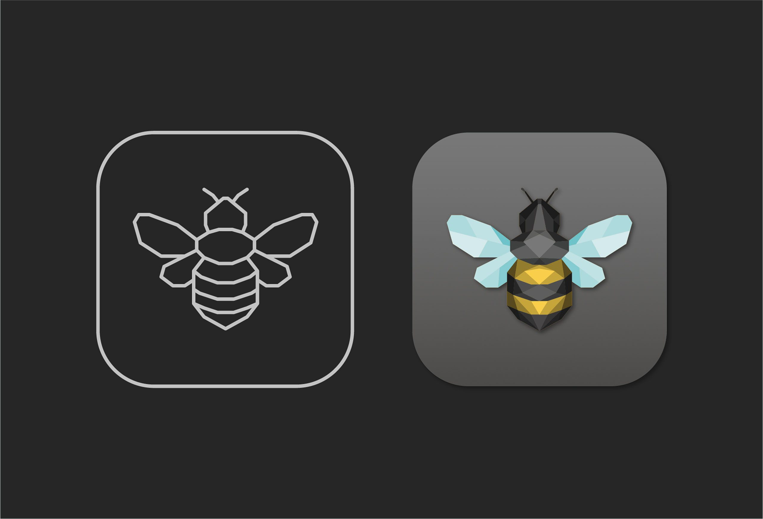 bee icon design