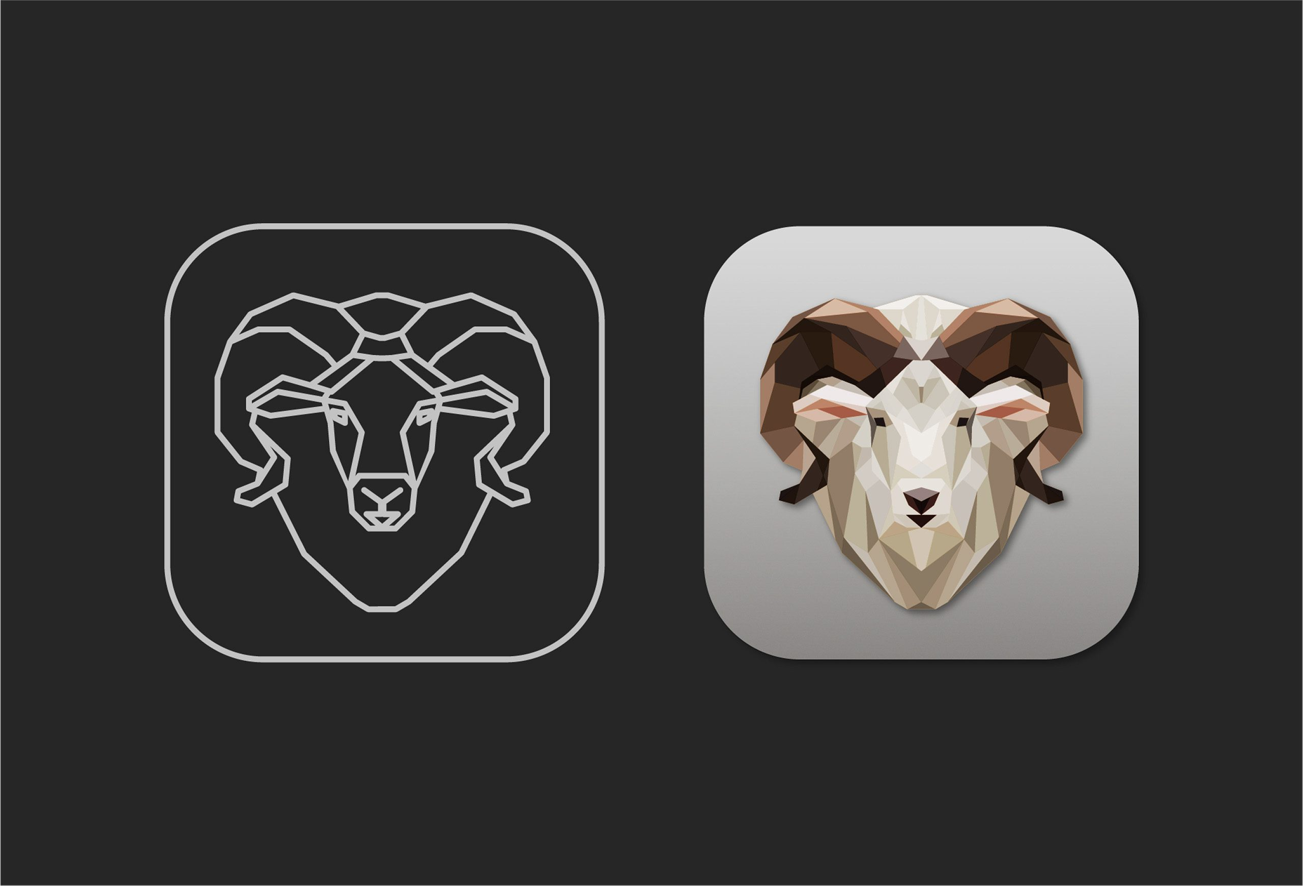 ram icon design