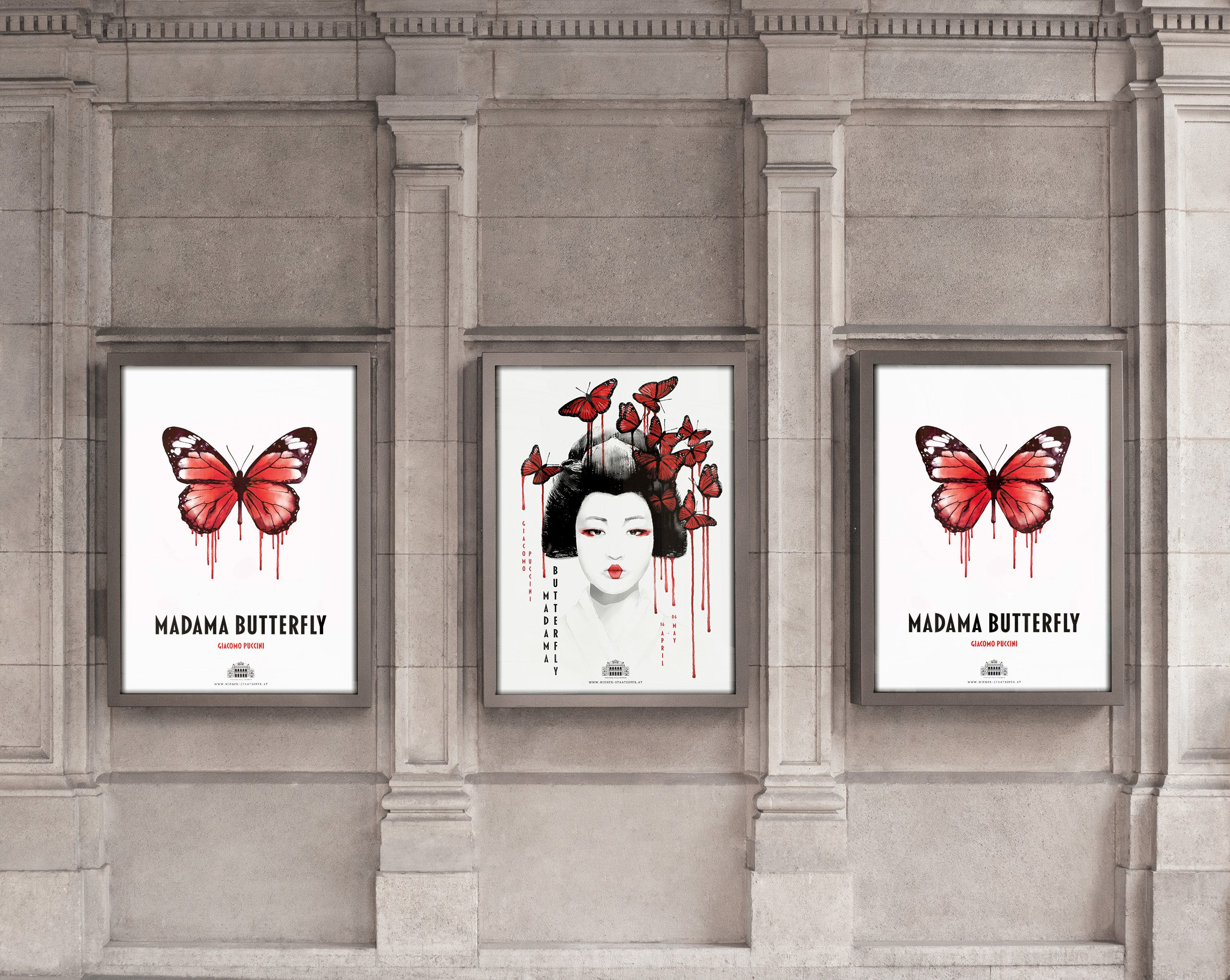 madama butterfly poster display