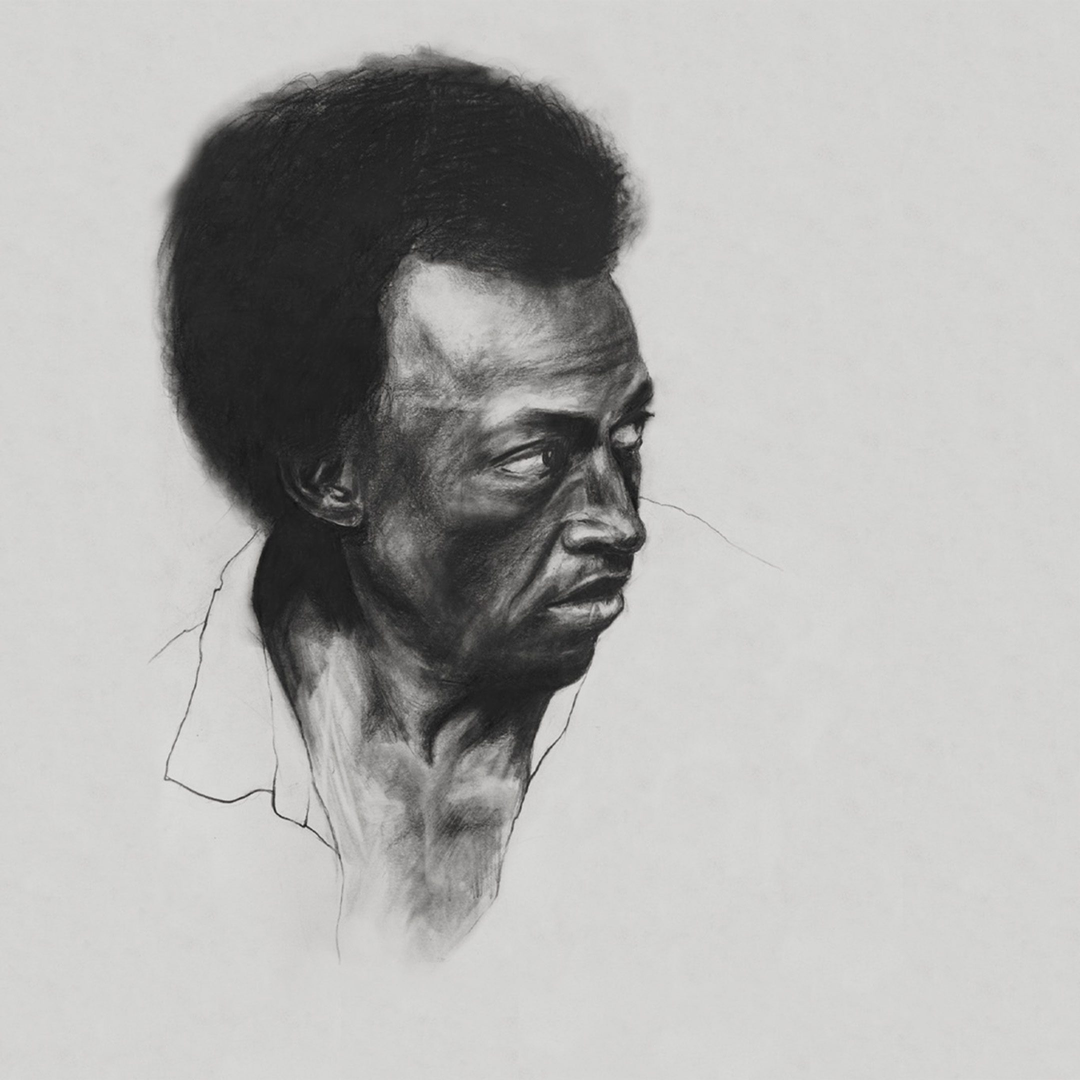 miles davis illustration